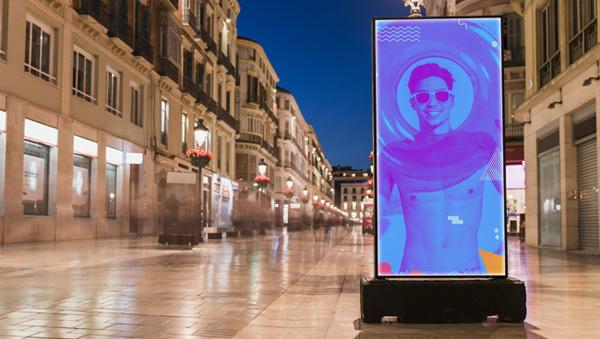 Impresión de lonas backlight para iluminación interior publicidad en Webpoint Valencia
